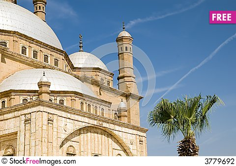 Free Mosque Of Mohamed Ali Stock Photography - 3779692