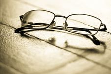 Free Spectacles Stock Photo - 3770020