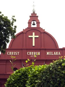 Free Christ Church, Malacca Stock Photos - 3770473