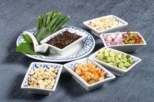 Free Thai Apertizer Herb Set Stock Image - 3770671