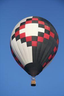 Free Black-red-white Balloon Royalty Free Stock Photo - 3771315