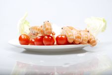 Free Prawns Royalty Free Stock Photos - 3771598