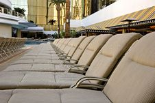 Free Chaise Lounges Royalty Free Stock Photos - 3771618