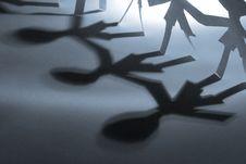 Free Three Shadows Stock Image - 3771871