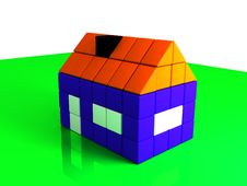 Free House From Bricks Royalty Free Stock Images - 3771949