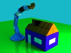 Free Last Brick Royalty Free Stock Photo - 3771955