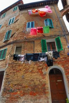 Old House In Siena No.1 Royalty Free Stock Images