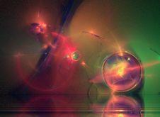 Free Abstract Fractal Galaxy Royalty Free Stock Photos - 3772148