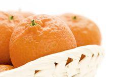Free Orange Basket Royalty Free Stock Image - 3772196