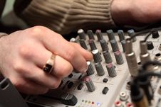 Free Vision-mixing Engineer Stock Images - 3772554