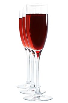 Free Glasses With Red Wine Royalty Free Stock Photos - 3773328