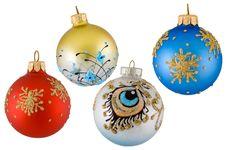 Free Christmas Balls Royalty Free Stock Photos - 3773598