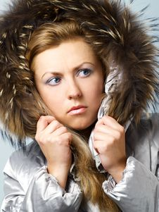 Free Worried Girl In Hood Stock Photos - 3774383