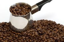 Free Coffee Beans And Boiler Stock Photo - 3774910
