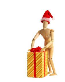 Free Christmas Gift Stock Photography - 3774992