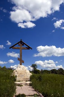 Free Cross And Blue Sky Stock Photo - 3775200