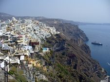Free View On Santorini Stock Images - 3775424