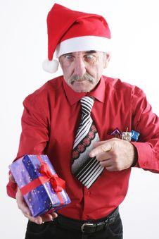 Free Santa Man Royalty Free Stock Photo - 3775745