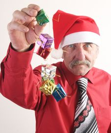 Free Santa Man Royalty Free Stock Photography - 3776037