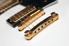 Free Electric Guitar Closeup Royalty Free Stock Photos - 3776078