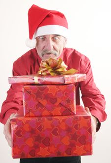 Free Santa Man Royalty Free Stock Photos - 3776108