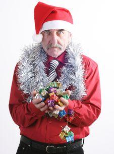 Free Santa Man Royalty Free Stock Photos - 3776178