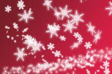 Free Snowflakes Background Royalty Free Stock Photos - 3776198