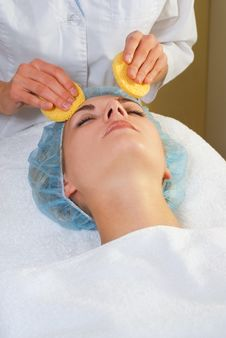 Free Girl In Spa Salon Stock Photo - 3776200