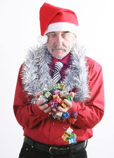 Free Santa Man Stock Images - 3776244