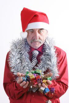 Free Santa Man Royalty Free Stock Photos - 3776288