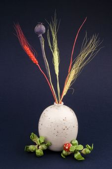 Free Wheat In Vase Royalty Free Stock Images - 3776389