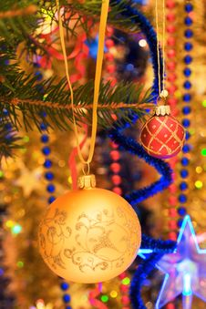 Free Christmas Decorations. Royalty Free Stock Photos - 3776398
