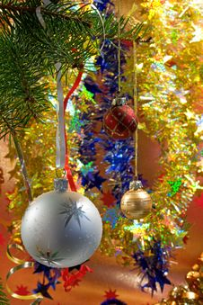 Free Christmas Decorations. Royalty Free Stock Photography - 3776427