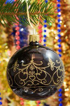 Free Christmas Decorations. Royalty Free Stock Photo - 3776445