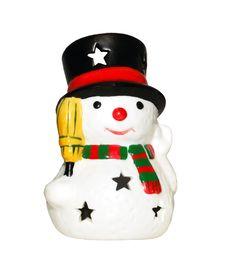 Free Snowman Royalty Free Stock Photo - 3776585