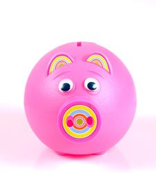 Free Piggy Bank. Royalty Free Stock Images - 3777159