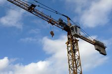 Free Construction Crane Royalty Free Stock Photography - 3777367