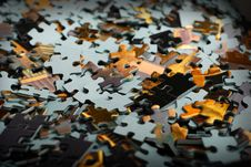 Free Pieces Of Puzzle Royalty Free Stock Photo - 3777465