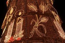 Free Christmas Lights Royalty Free Stock Image - 3777506