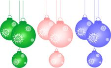 Free New Year Decorations Stock Image - 3777511