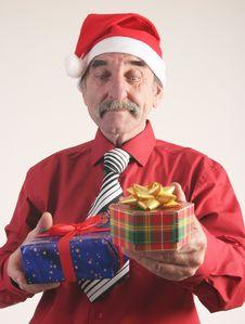 Free Santa Man Royalty Free Stock Photos - 3777648