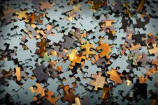 Free Pieces Of Puzzle Stock Images - 3777654