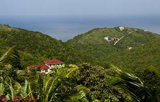 Free Island Luxury Home View On Tortola BVI Stock Photos - 3777883