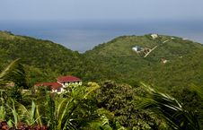 Island Luxury Home View On Tortola BVI Stock Photos