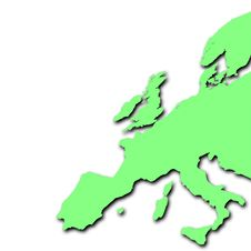 Free Green Europe Royalty Free Stock Image - 3777986