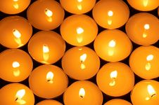 Free Round Candles Stock Images - 3778154