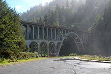 Free Iron Railway Bridge Royalty Free Stock Images - 3778209