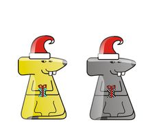 Free Icon Of Two Mice. Stock Photo - 3778390