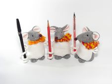 Free Three Little Mouses Stock Photography - 3778412