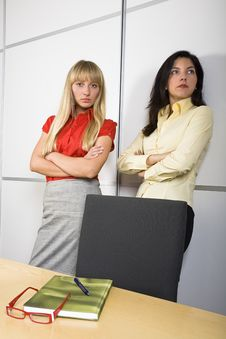 Free Two Serious Businesswomen Stock Photography - 3778592